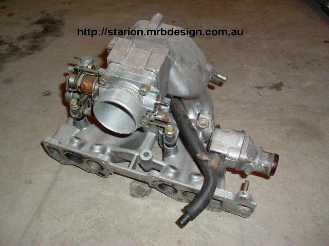 L on Mitsubishi Starion Engine