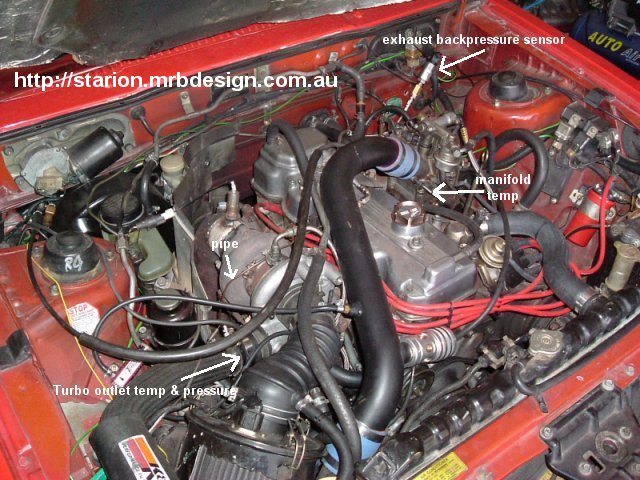 Turbos. Engine Bay Pic With Td06 Turbo Fitted. Wiring. Conquest Tsi Engine Setup Diagram At Scoala.co